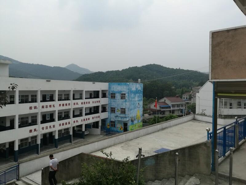 教学楼俯瞰图